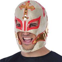 Maschera 149464 Cavaliere mascherato Dorato