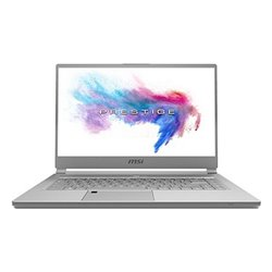 MSI Prestige P65 9SF-1017ES Creator Grey Notebook 39.6 cm (15.6) 3840 x 2160 pixels 9th gen Intel® Core™ i9 64 9S7-16Q412-1017