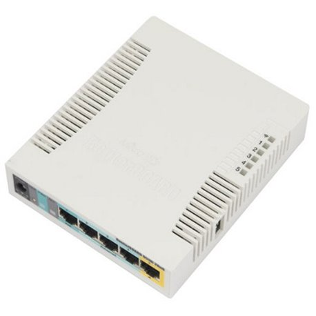 Punto d'Accesso Mikrotik RB951UI-2HND AP 2.4 GHz 5 Eth 600 MHz 128 M