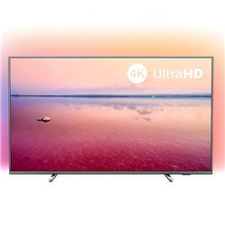"Smart TV Philips 50PUS6754 50"" 4K Ultra HD LED WiFi Argentato"