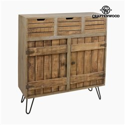 Commode Bois (100 x 35 x 110 cm) - Collection Far West by Craftenwood