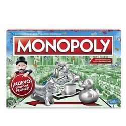 Gioco da Tavolo Monopoly Barcelona Hasbro (ES)
