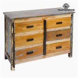 Chest of drawers Wood (110 x 45 x 81 cm) - Vintage Collection by Craftenwood