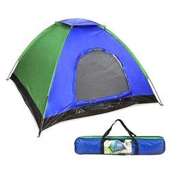 Tenda da Campeggio Verde Azzurro (200 X 120 x 100 cm)