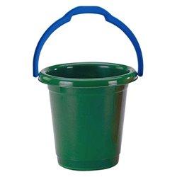 Secchio con Manico Verde