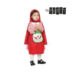 Costume per Neonati Cappuccetto rosso (2 Pcs) 12-24 Mesi