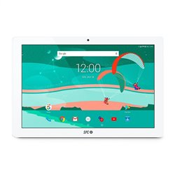 SPC Gravity 4G 25,6 cm (10.1) ARM 2 GB 16 GB Wi-Fi 4 (802.11n) LTE Argento, Bianco Android 8.1 9769216B