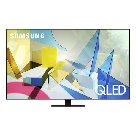 """Smart TV Samsung QE55Q80T 55"""" 4K Ultra HD QLED WiFi Grigio"""