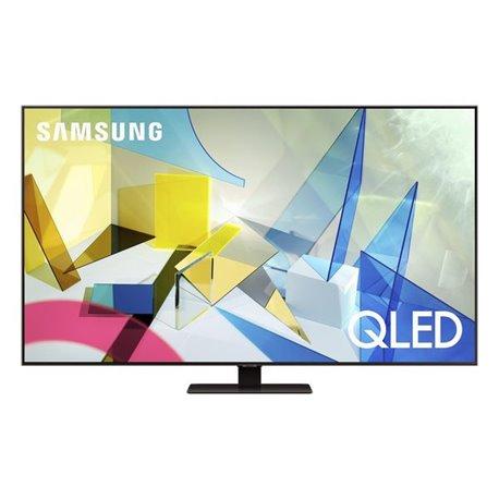 """Smart TV Samsung QE75Q80T 75"""" 4K Ultra HD QLED WiFi Grigio"""