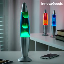 Lampe de Lave Magma InnovaGoods Rouge