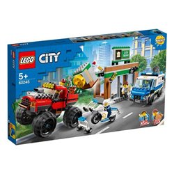 Playset City Police Monster Truck Lego 60245