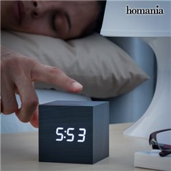 Reloj Despertador Digital Cubo Homania