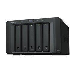 "Hard Disk Esterno Nas Synology DX517 2,5""-3,5"" SATA 60 TB Nero"