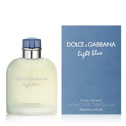 """Men's Perfume Light Blue Homme Dolce & Gabbana EDT """"75 ml"""""""