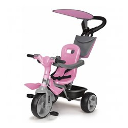 Triciclo Feber Baby Plus Music Rosa