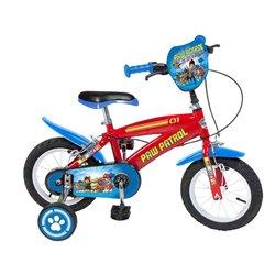 """Bicicletta per bambini The Paw Patrol 14"""" Rosso Azzurro"""