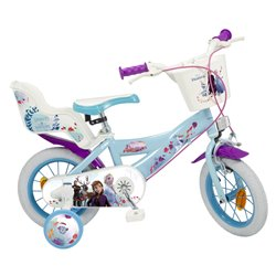 """Bicicletta per bambini Frozen 12"""" Azzurro chiaro"""
