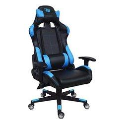 Sedia Gaming CoolBox Deep Command 180º Nero Azzurro