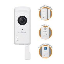 Cámara IP + Sensores Edimax IC-5170SC (H/V/D): 180° / 142° / 206° Zoom 4x Wifi