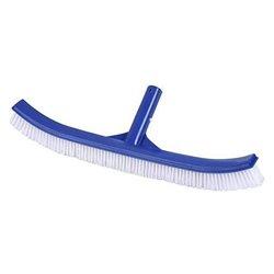 Spazzola Curva per Piscina Juinsa Azzurro Plastica (46 Cm)