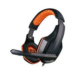Auricolari con Microfono Gaming Ardistel BLACKFIRE BFX-10 PS4 Nero Arancio