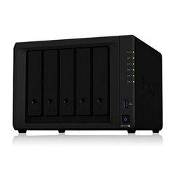 Memorizzazione in Rete NAS Synology DS1019+ Celeron 8 GB RAM Nero