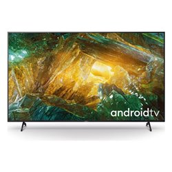 "Smart TV Sony Bravia KD85XH8096 85"" 4K Ultra HD LED WiFi Nero"