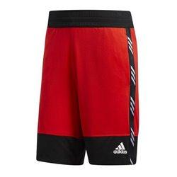 Pantaloncini da Pallacanestro da Uomo Adidas PM Short Nero Rosso S