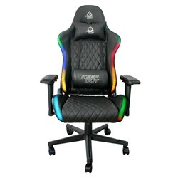Sedia Gaming KEEP OUT XSPRO-RGB 180º Nero