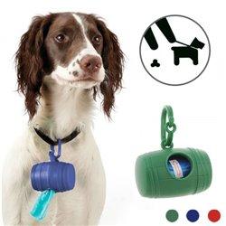 Portabolsas Higiénicas para Perros Pet Prior (con 15 bolsas)