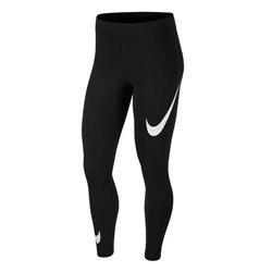 Leggings Sportivo da Donna Nike NSW LEGASEE LGGNG SWOOSH Nero L