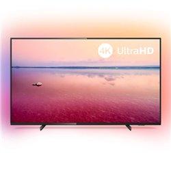 "Smart TV Philips 50PUS6704 50"" 4K Ultra HD LED WiFi Nero"