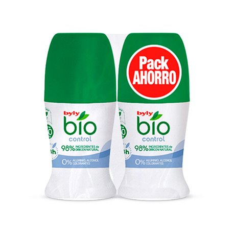 Deodorante Roll-on BIO NATURAL 0% Byly (2 pcs)