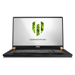"Notebook MSI WS75-609ES 17,3"" i7-9750H 32 GB RAM 1 TB SSD Nero"