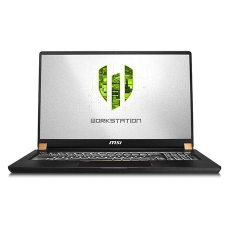"Notebook MSI WS75-609ES 17,3"" i7-9750H 32 GB RAM 1 TB SSD Nero"