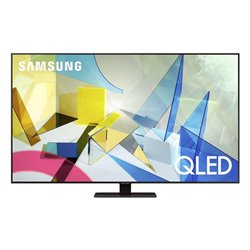 "Smart TV Samsung QE85Q80T 85"" 4K Ultra HD QLED WiFi Grigio"