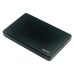 "Involucro per Hard Disk approx! APPHDD300B 2,5"" SATA USB 3.0 Nero"