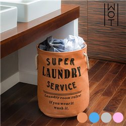 Saco para Roupa Suja Super Laundry Service Wagon Trend Laranja