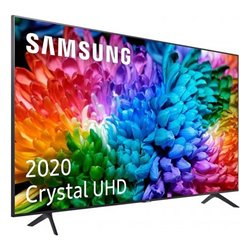 "Smart TV Samsung UE55TU7105 55"" 4K Ultra HD LED WiFi Grigio"