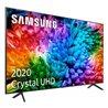 Samsung UE55TU7105KXXC TV 139,7 cm (55) 4K Ultra HD Wi-Fi Carbonio, Grigio, Argento