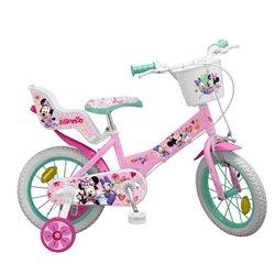 """Bicicletta per bambini Minnie Mouse 12"""" Rosa"""