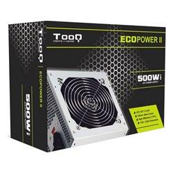 Fonte di Alimentazione TooQ TQEP-500S-INT ATX 500W Argentato
