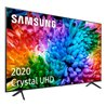 Samsung UE50TU7105KXXC TV 127 cm (50) 4K Ultra HD Smart TV Wifi Charbon, Gris, Argent