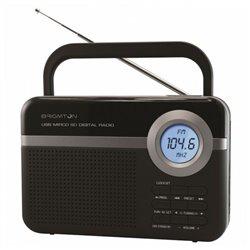 Radio Portatile BRIGMTON BT 251 N Nero