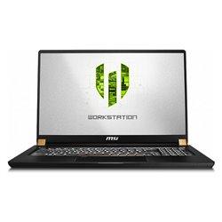"Notebook MSI WorkStation WS75-610ES 17"" i7-9750H 32 GB RAM 1 TB SSD Nero"