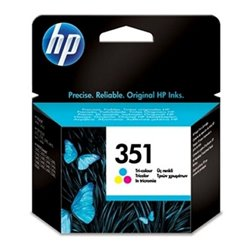 Cartuccia ad Inchiostro Originale Hewlett Packard CB337EE Tricolore