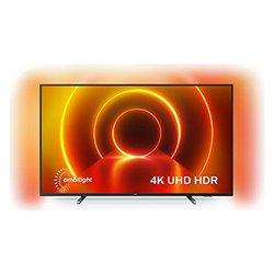 "Smart TV Philips 43PUS7805 43"" 4K Ultra HD LED WiFi Grigio"