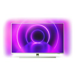 "Smart TV Philips 50PUS8535 50"" 4K Ultra HD LED WiFi Argentato"
