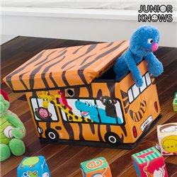 Panier à Jouets Pliable Bus Junior Knows