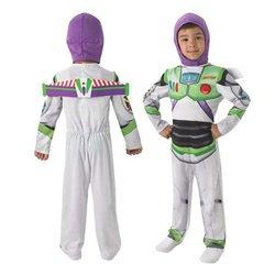 Costume per Bambini Buzz Lightyear Toy Story Rubies (Taglia 3-4 anni)